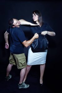 WOMAN SELF DEFENCE SYSTEM