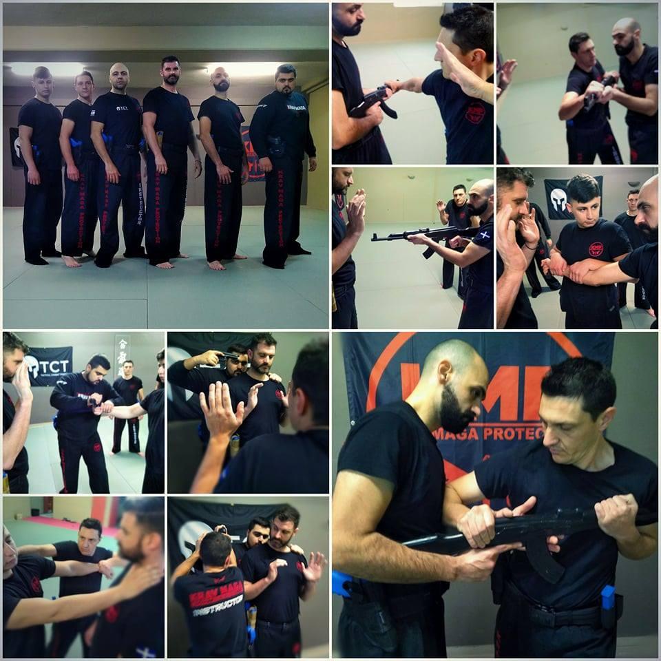 KRAV MAGA Training Greece Thessaloniki