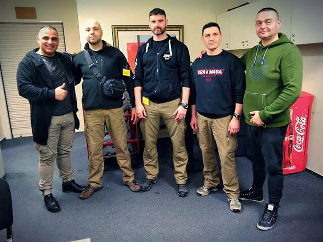 Hyatt Regency Thessaloniki Security Training 2018 from Krav Maga Protection KMP
