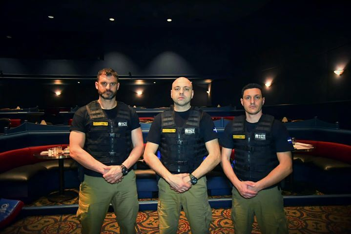 KMP krav maga Casino Training Instructor team