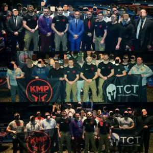 KMP krav maga Casino Training team
